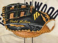 Mizuno World Win Todd 'Highway to' Helton game-used glove
